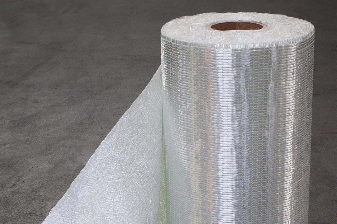 Korrosionsbeständige Glasfaser-Composite-System - Glasfasermatten