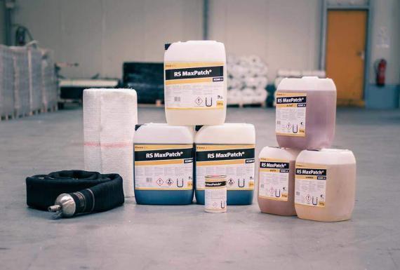 RS MaxPatch® Reparaturverfahren