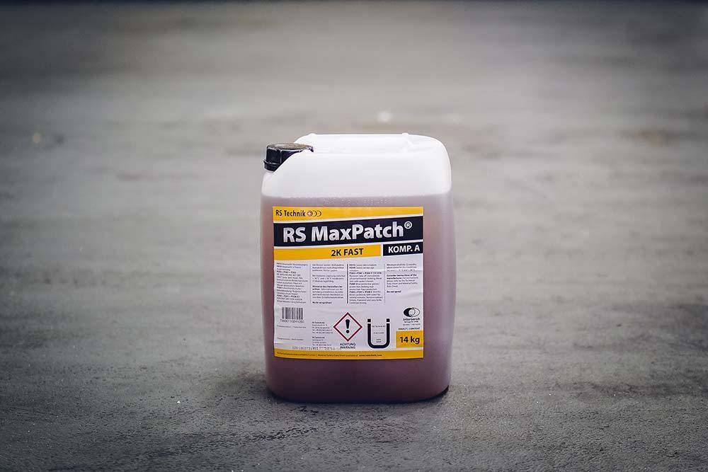 RS MaxPatch® 2K Fast - Harzsystem Ein leistungsstarkes System für die zügige Reparatur von punktuellen Defekten an Rohren