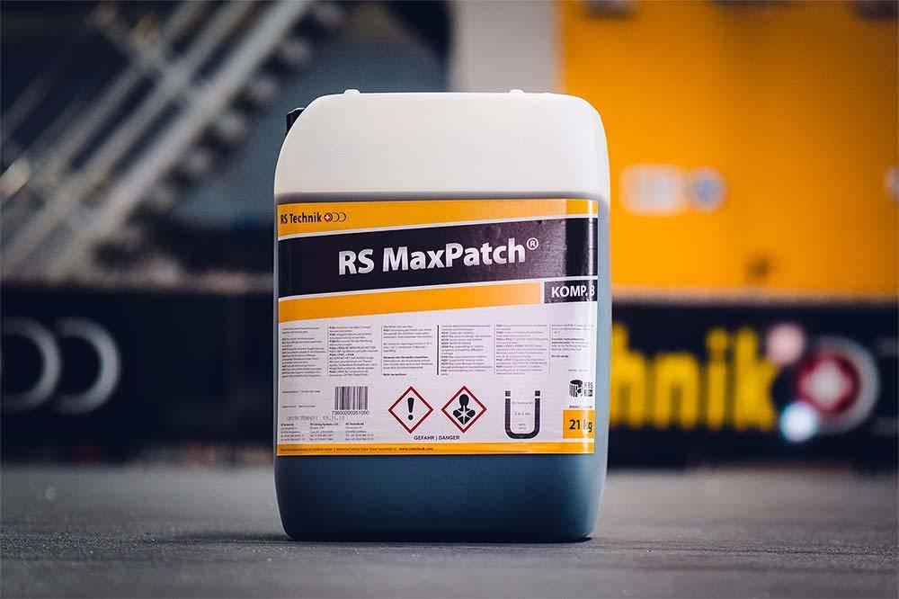 RS MaxPatch® - Harzsystem Ein leistungsstarkes System für die zügige Reparatur von punktuellen Defekten an Rohren