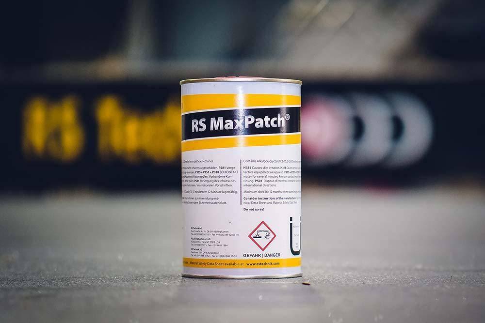 RS MaxPatch® - Harzsystem Ein leistungsstarkes System für die zügige Reparatur von punktuellen Defekten an Rohren.