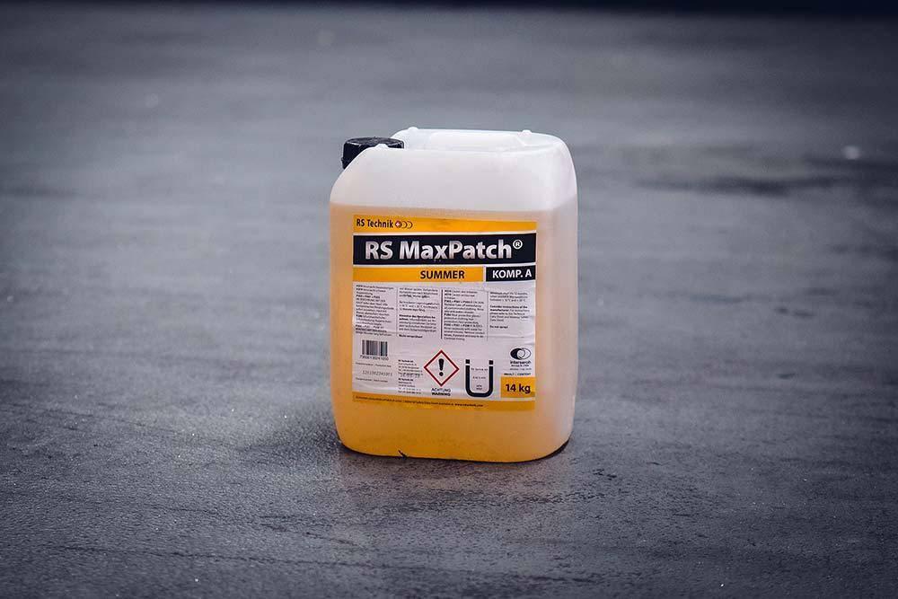 RS MaxPatch® Summer - Harzsystem Ein leistungsstarkes System für die zügige Reparatur von punktuellen Defekten an Rohren