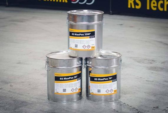 RS MaxPox® Epoxy resin systems for RS MaxLiner®